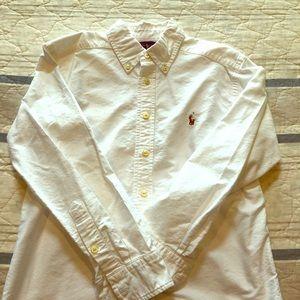 Ralph Lauren White Oxford Shirt